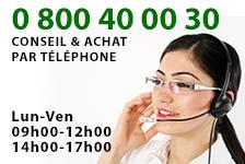diapason numéro de téléphone vert